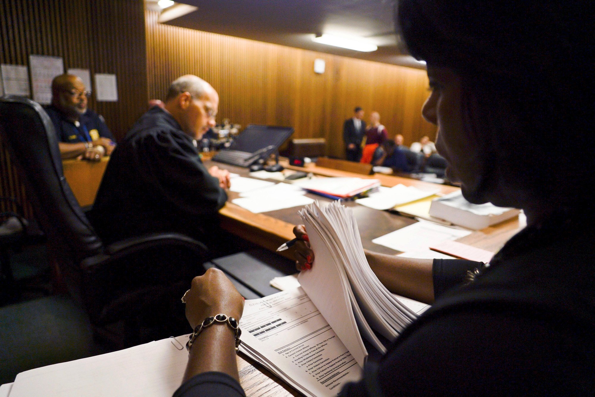 Artificial intelligence is coming for both judges and defendants