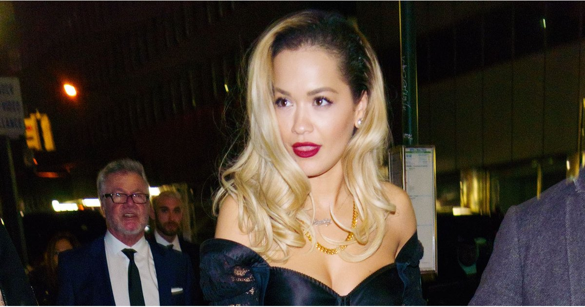 Rita Ora's Lingerie Dress Left Little to the Imagination, and We're Not Sure What to Think