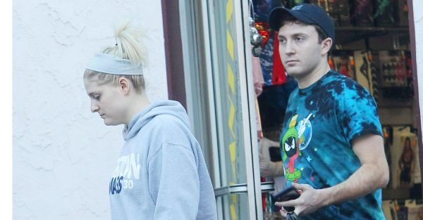 Meghan Trainor leaves a sex shop with a huge bag of VERY racy items