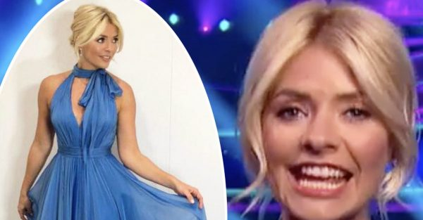Holly Willoughby dress Dancing On Ice: Bespoke Susan Neville dress leaves fans calling presenter Cinderella