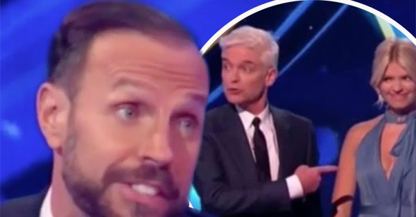 Dancing On Ice: Phillip Schofield CLASHES with Jason Gardiner