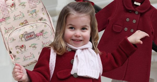 Princess Charlotte nursery outfit revealed including £12 rucksack from Cath Kidston