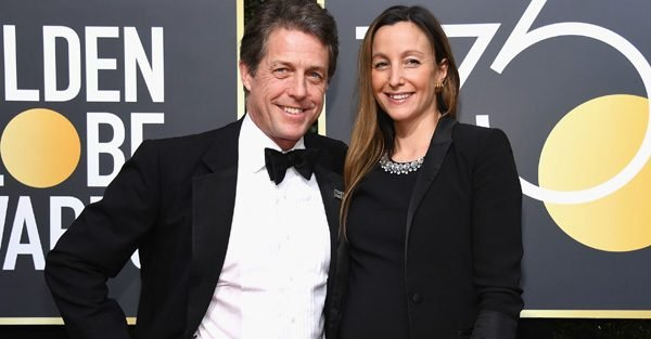 Hugh Grant to become father for FIFTH time as Anna Eberstein's pregnancy is confirmed