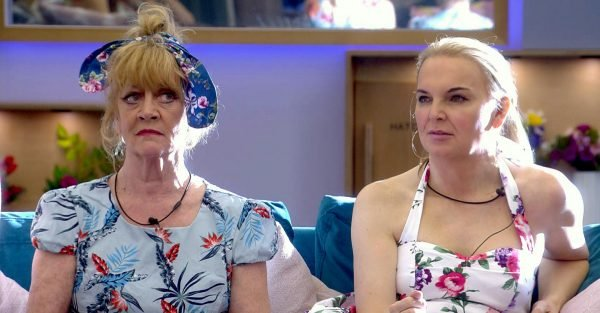 Celebrity Big Brother's Amanda Barrie accuses India Willoughby of 'playing the victim'