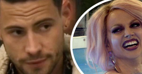 Celebrity Big Brother's Andrew Brady admits attraction to Courtney Act