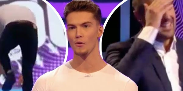 Take Me Out contestant FALLS down stairs in awkward blunder