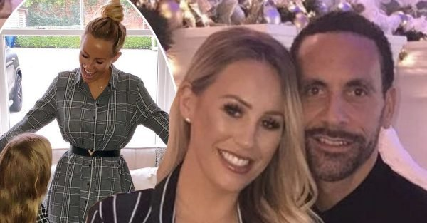 Kate Wright melts hearts as she wears matching outfit with Rio Ferdinand's daughter