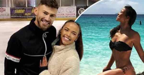 Who is Jake Quickenden partner Vanessa Bauer on Dancing On Ice