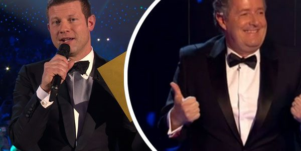 NTAs: Piers Morgan 'REPLACES' Dermot O'Leary