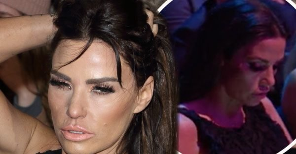 NTAs: Katie Price called out for using PHONE during show