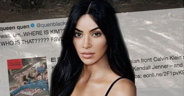 Kim Kardashian replaced by lookalike in Calvin Klein advert