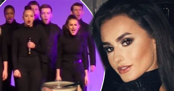 Amber Davies singing: Love Island star's secret talent