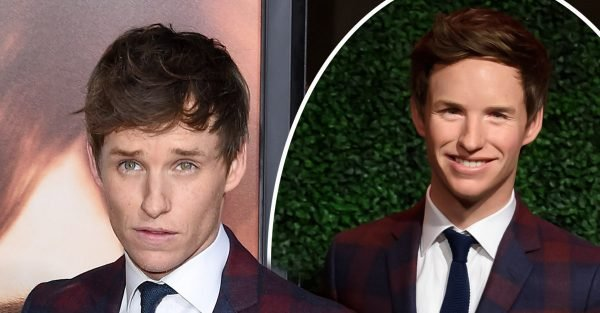 Eddie Redmayne laments signature feature as wax figure is unveiled