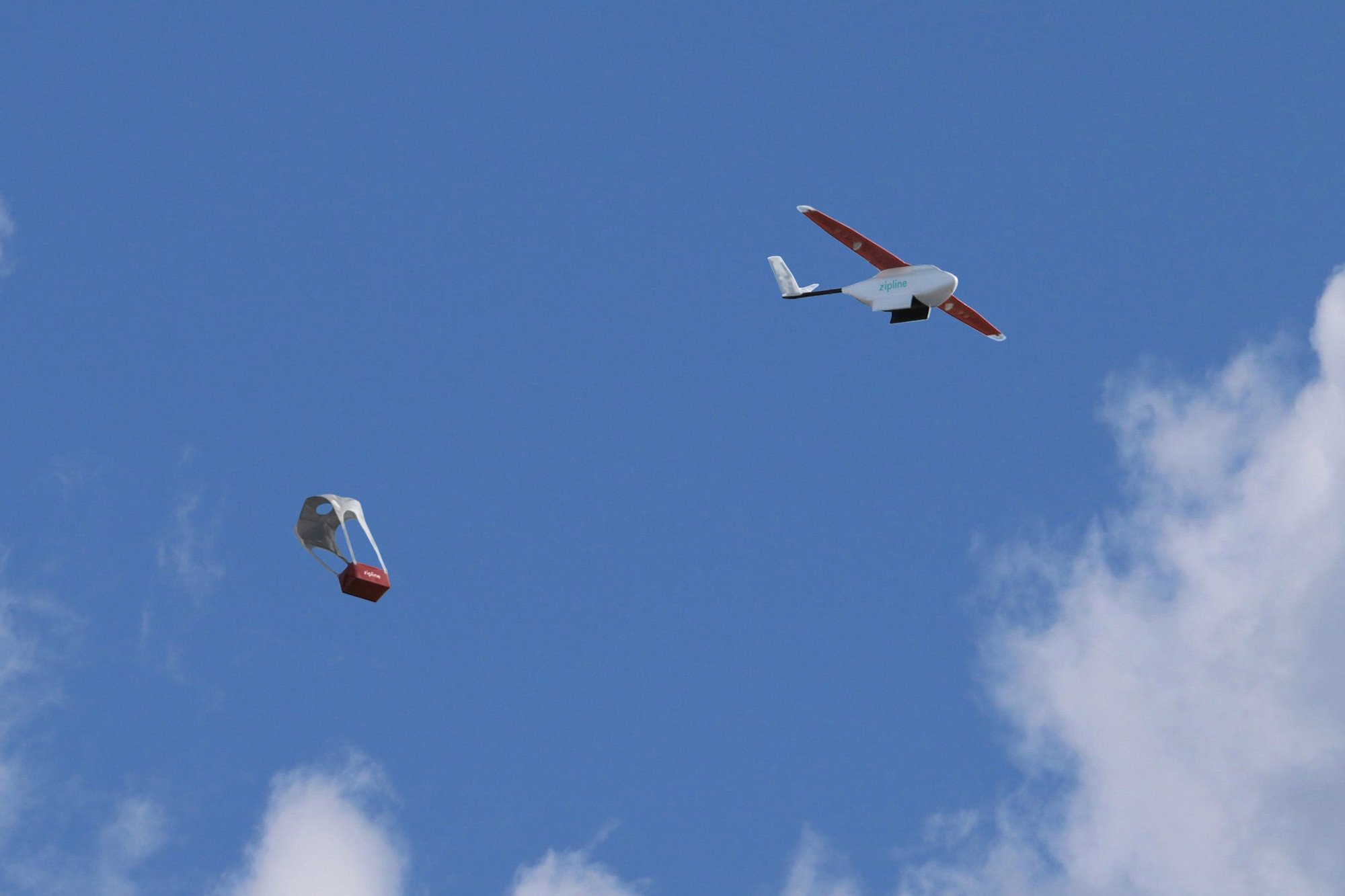 Blood delivered by drone is saving lives in Rwanda