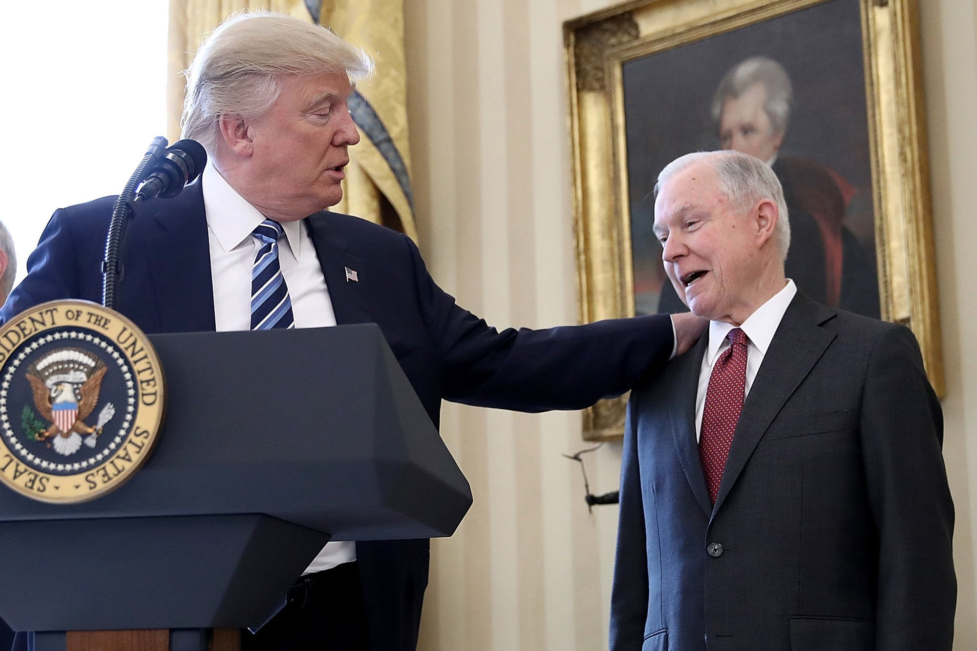 Sessions wants to get back on Trump's good side