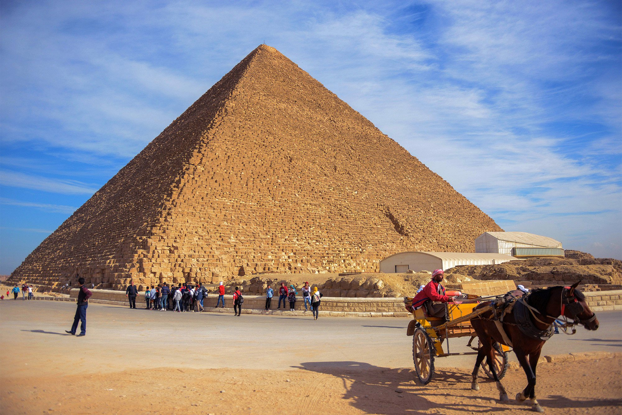 Great Pyramid may have throne carved from ancient meteorite