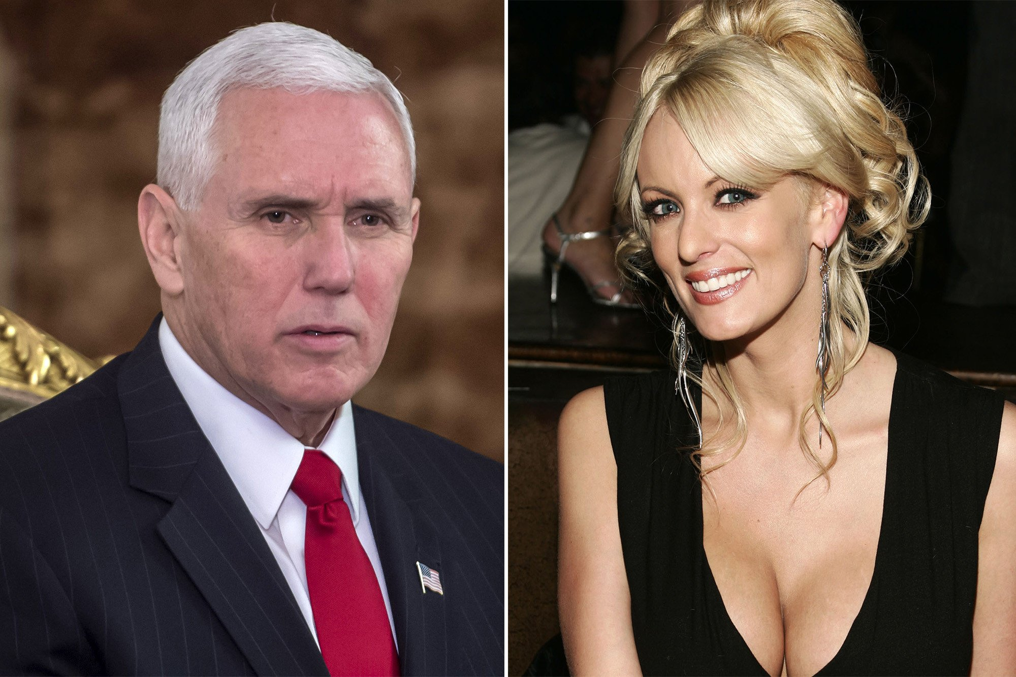 Pence defends Trump over alleged affair with porn star