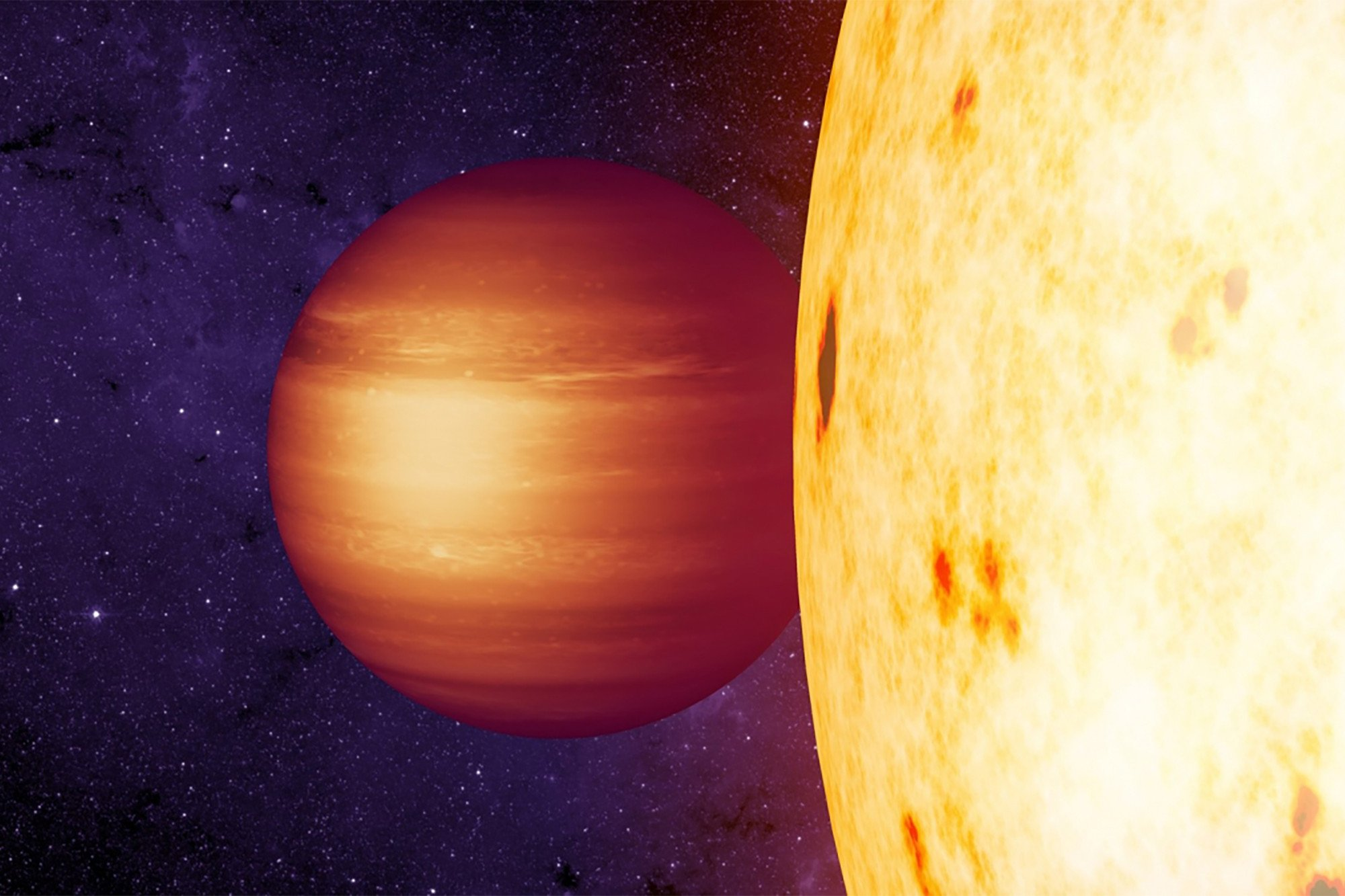 """Astronomers don't understand newly discovered """"hot Jupiter'"""