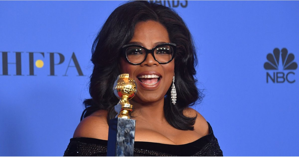 People Really Want Oprah to Run For President After Her Inspiring Golden Globes Speech