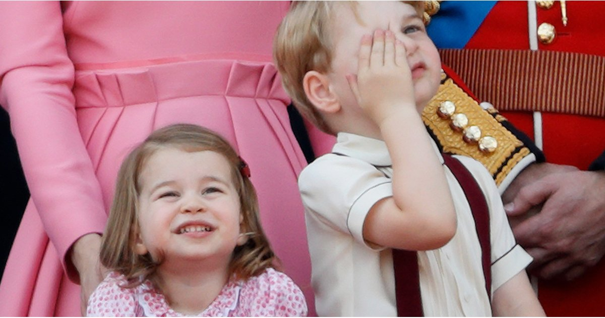 """In """"That's What We Like to Hear"""" News, Princess Charlotte Is the Boss of Big Brother George"""