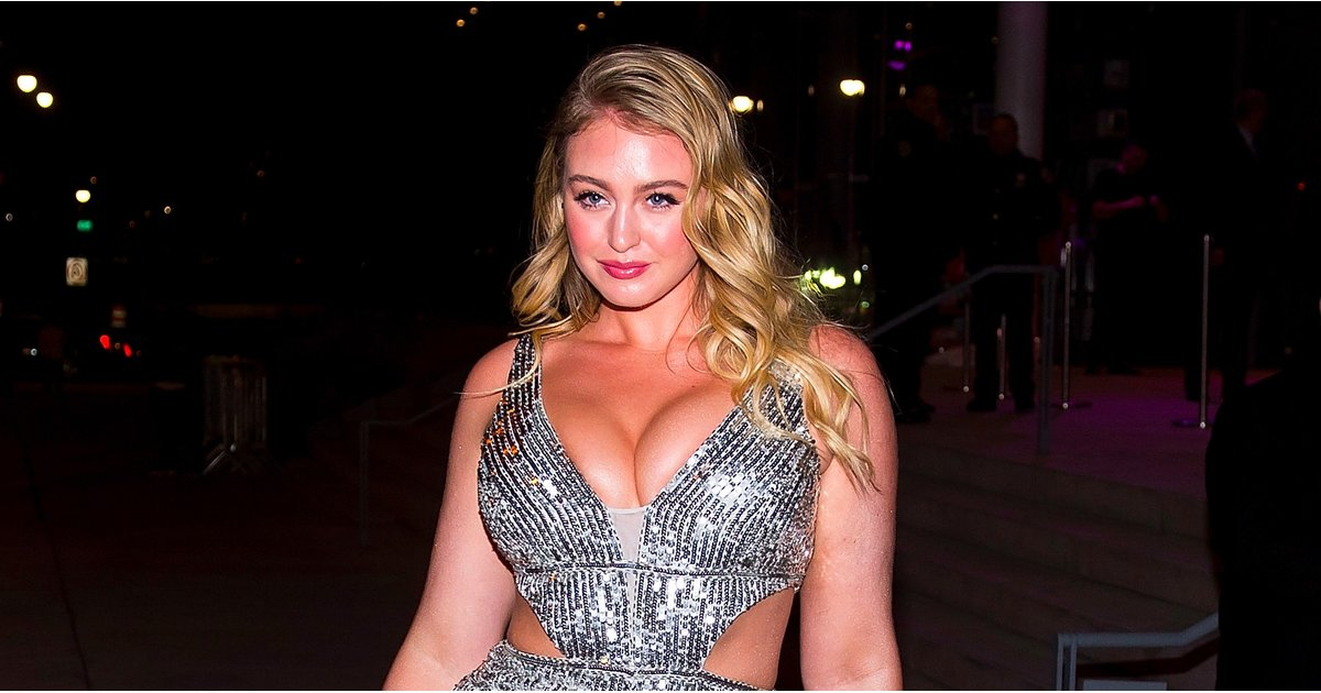 No One Could Rock This Sexy, Sparkly Jumpsuit Like Iskra Lawrence Did — I Repeat: No One
