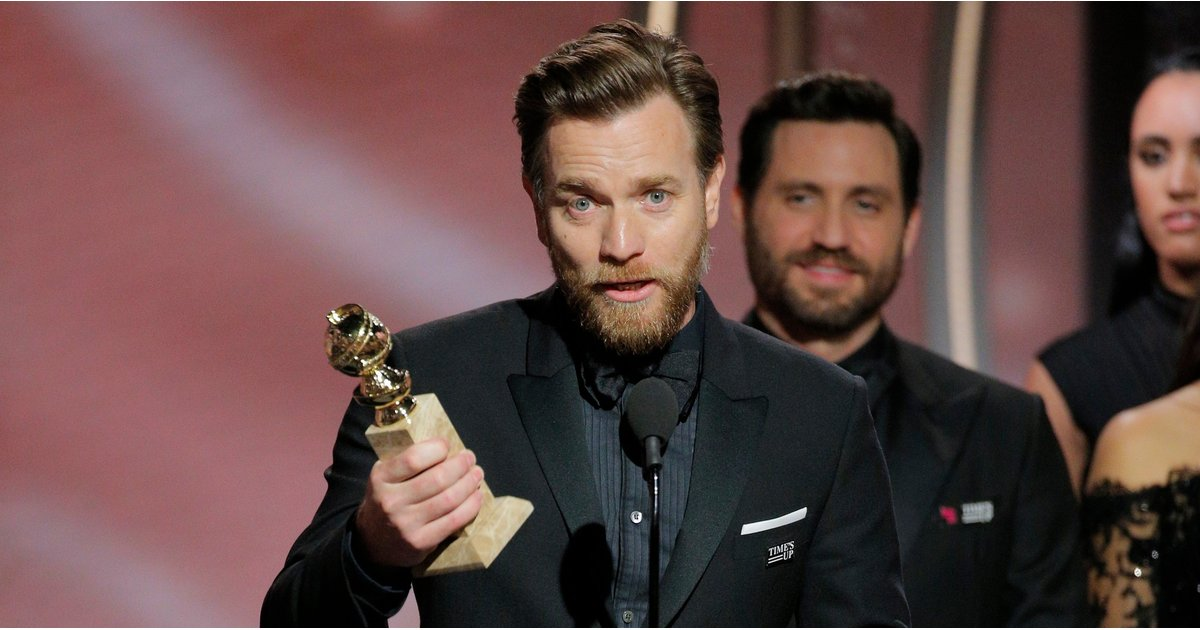 ICYMI: Ewan McGregor Thanked His Ex-Wife — and His Girlfriend — at the Globes