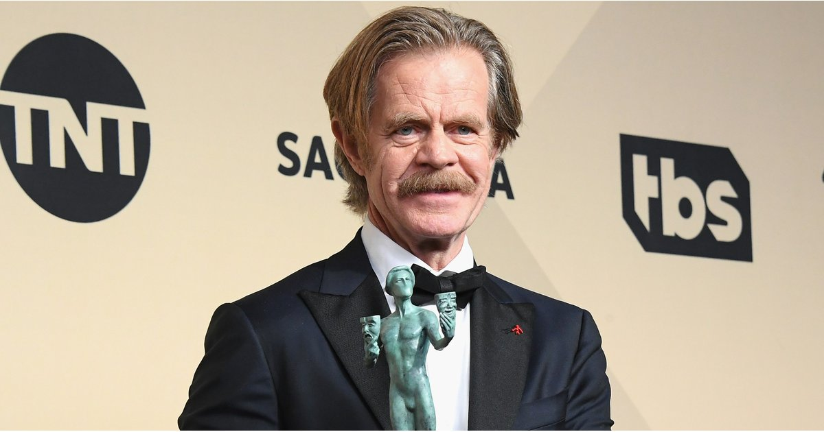Here's William H. Macy's Awkward Foot-in-Mouth Quote About Men at the SAG Awards