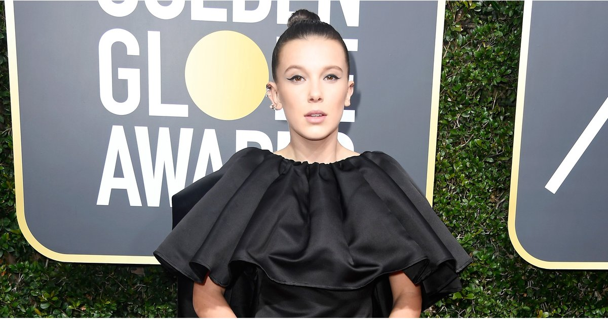 Millie Bobby Brown Grew Up Right Before Your Very Eyes in Her Golden Globes Gown