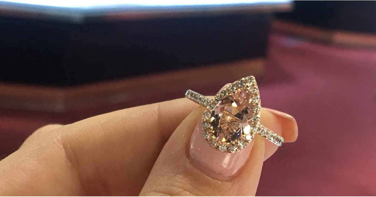 """11 Unique Engagement Rings That Will Make Her Scream, """"Yes!"""" — All From Etsy"""