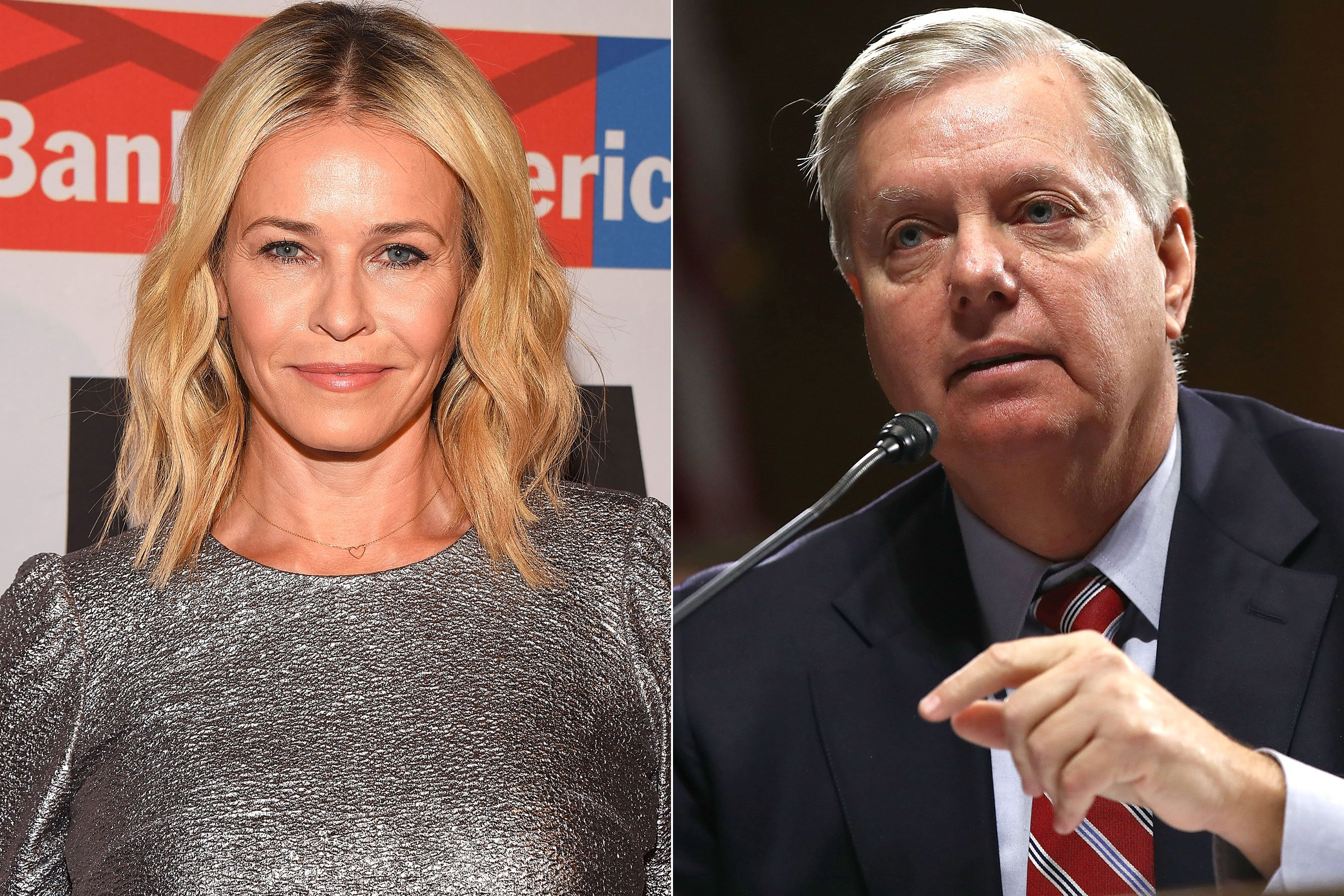 Chelsea Handler faces backlash for 'homophobic' Lindsey Graham tweet
