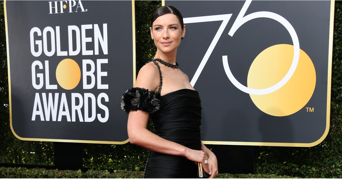 Caitriona Balfe's Best Red Carpet Accessory Was Her Blindingly Beautiful Engagement Ring