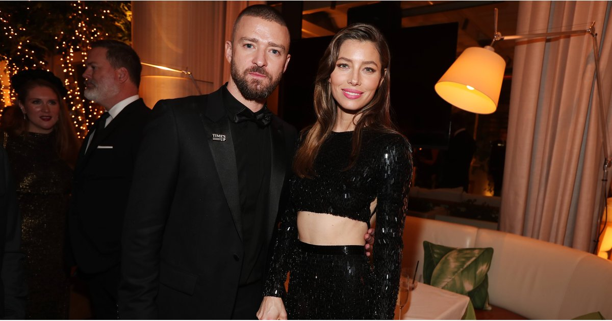 Justin Timberlake and Jessica Biel Were the Couple We All Needed at the Golden Globes