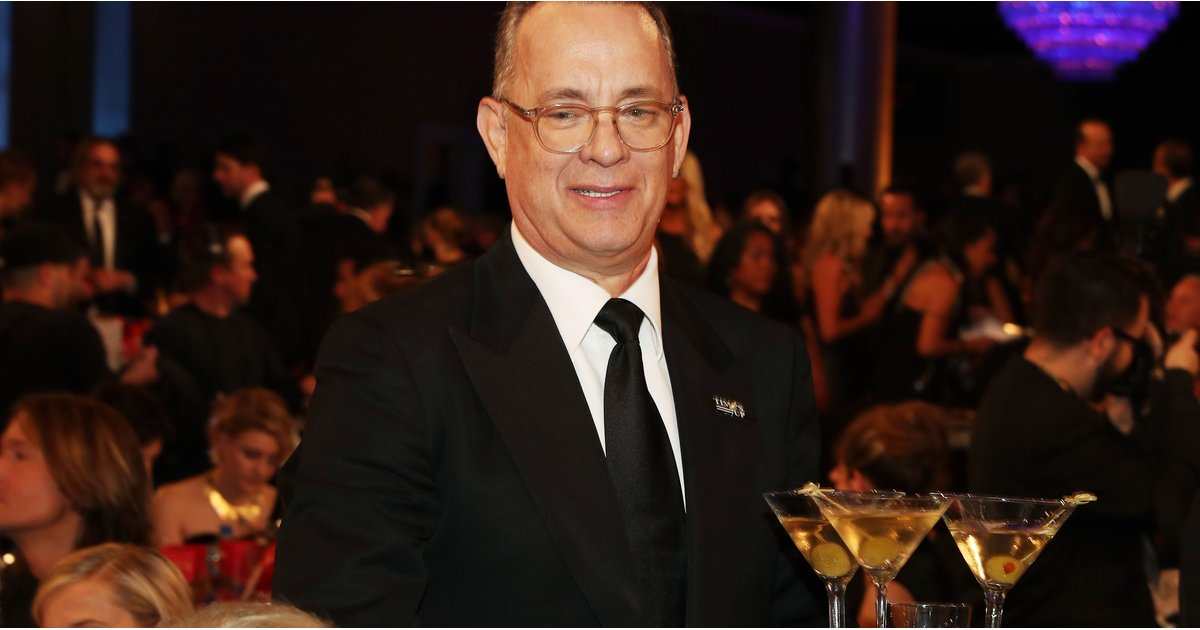 Tom Hanks, Everyone's Dream BFF, Delivered a Tray of Martinis to His Table