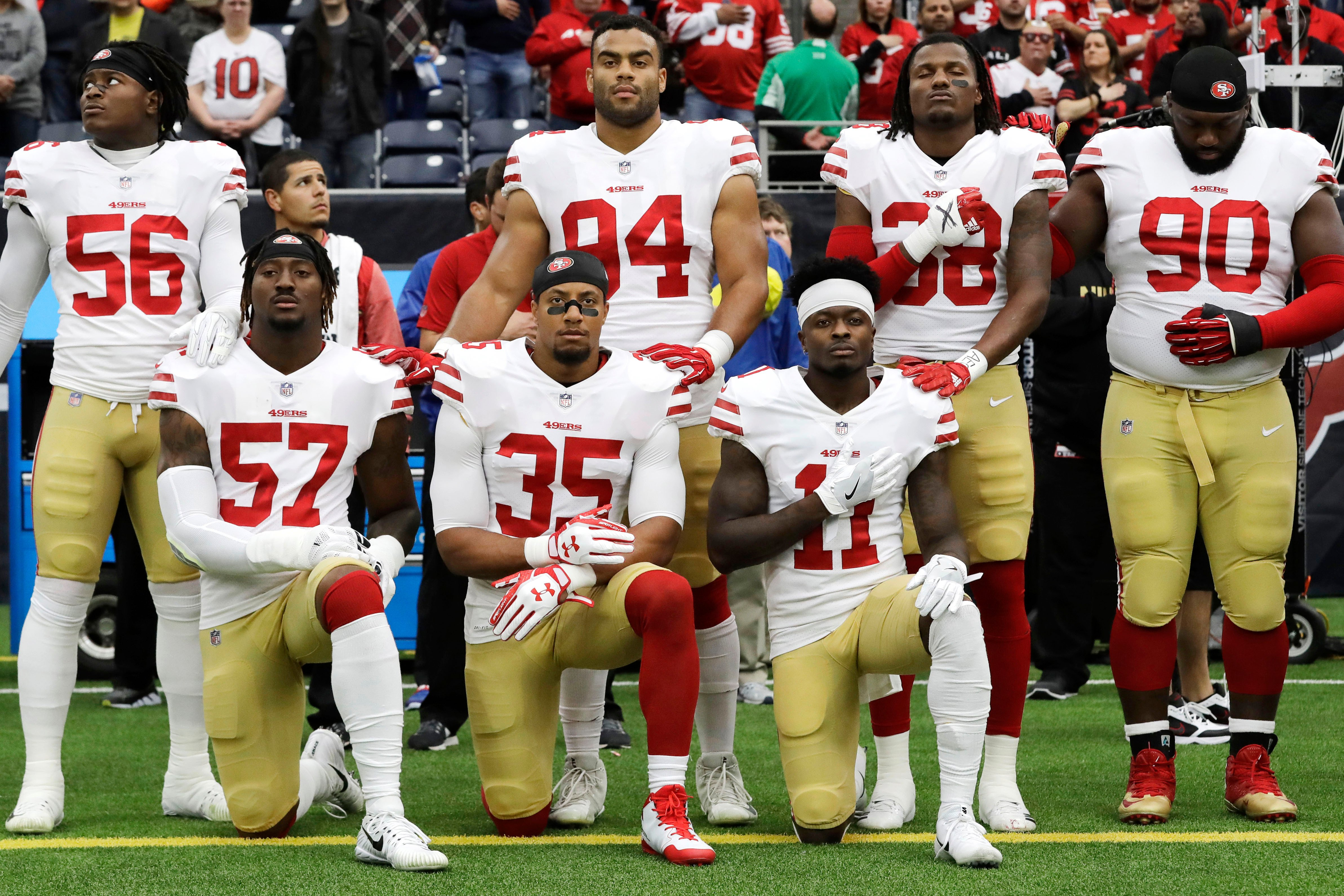 NFL playing more politics with the national anthem issue