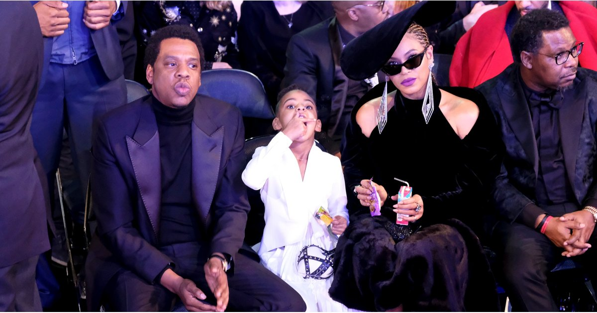 A Very Important Photo of Beyoncé Holding Blue Ivy's Juice Box at the Grammys
