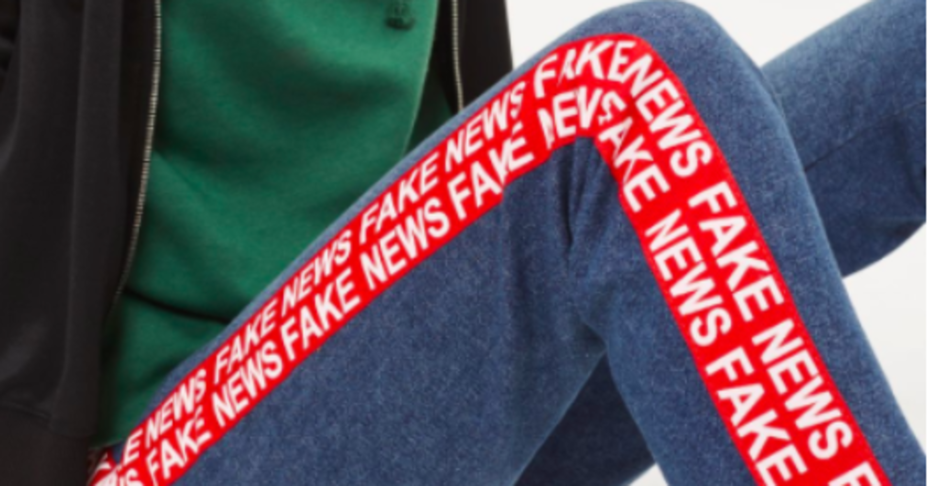 Unfortunately These 'Fake News' Jeans From Topshop Are Very Real