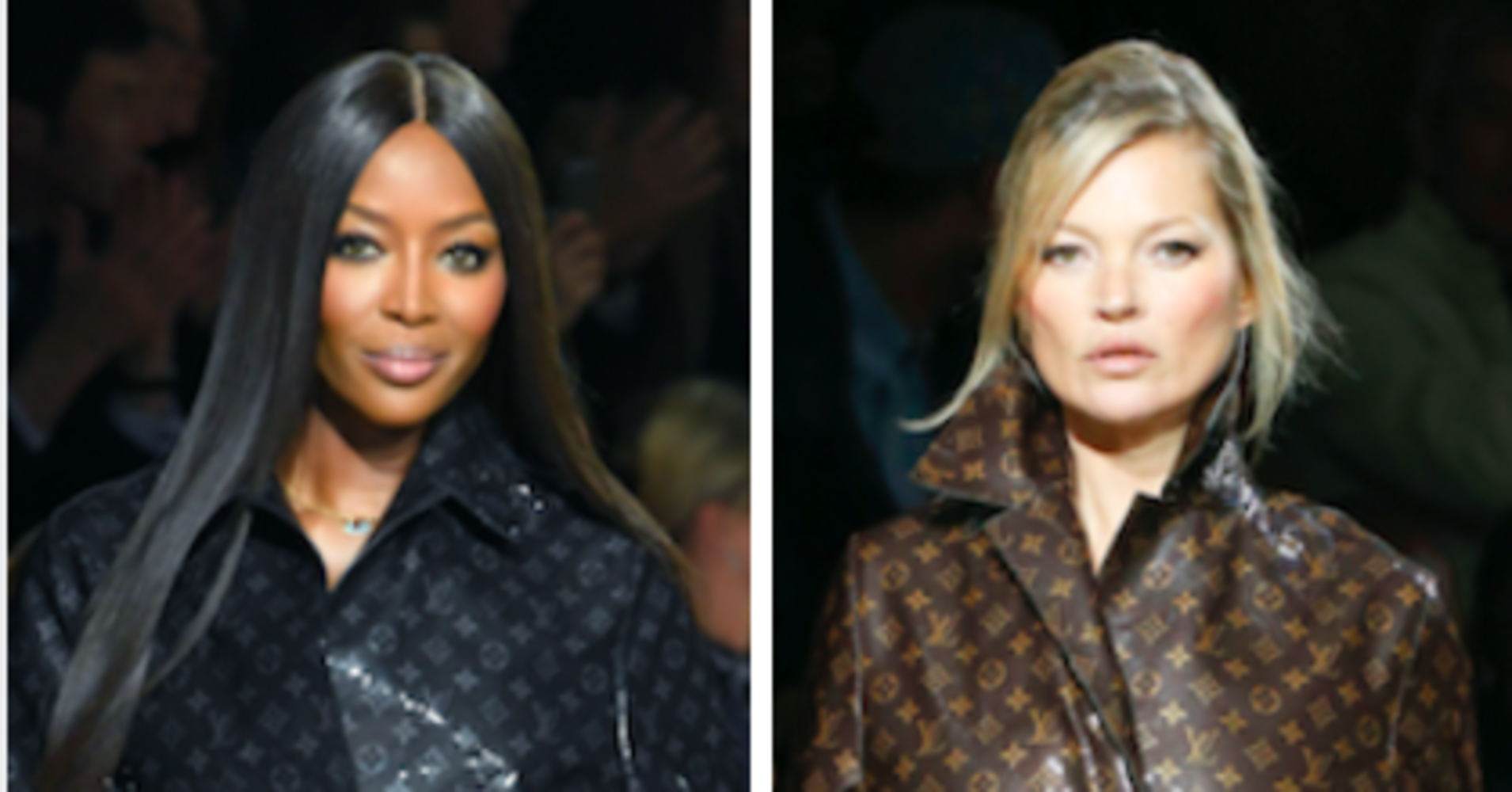 Kate Moss and Naomi Campbell Together in Vogue Paris