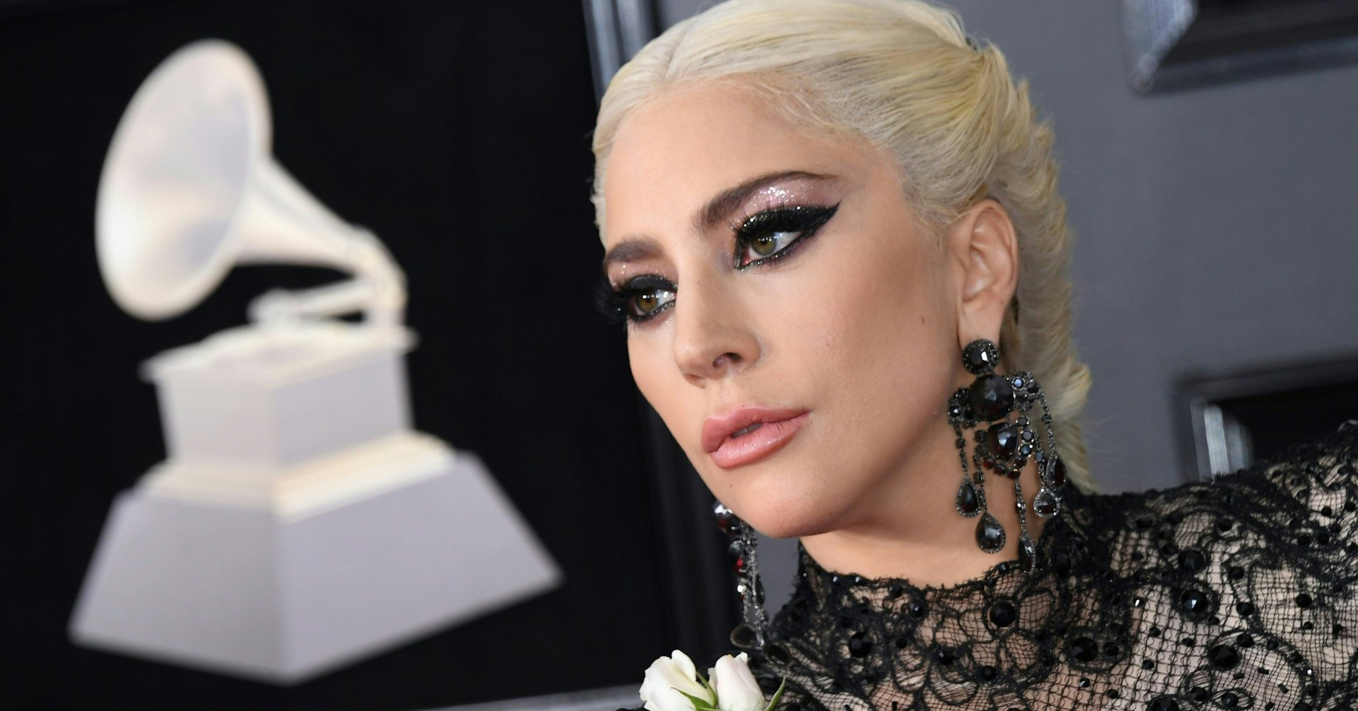 How To Get Lady Gaga's Stunning Grammys Hair And Makeup