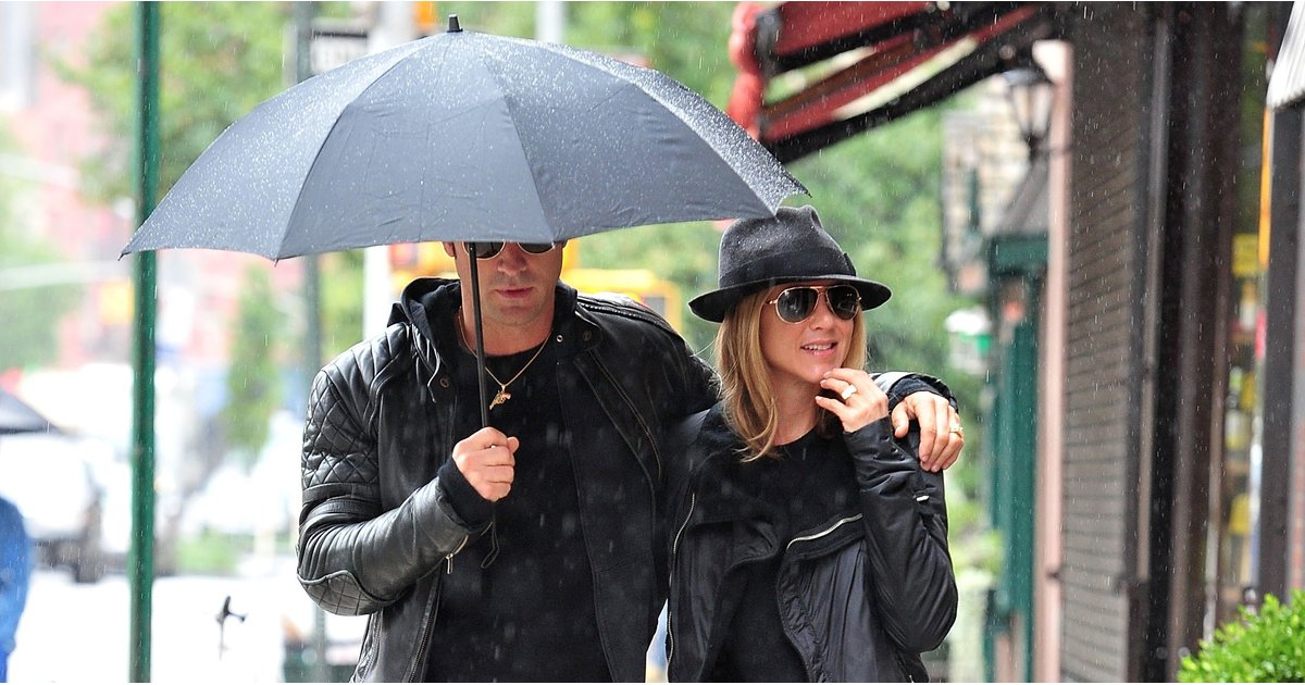 Jennifer Aniston and Justin Theroux Don't Even Have to Try to Master Couple Style