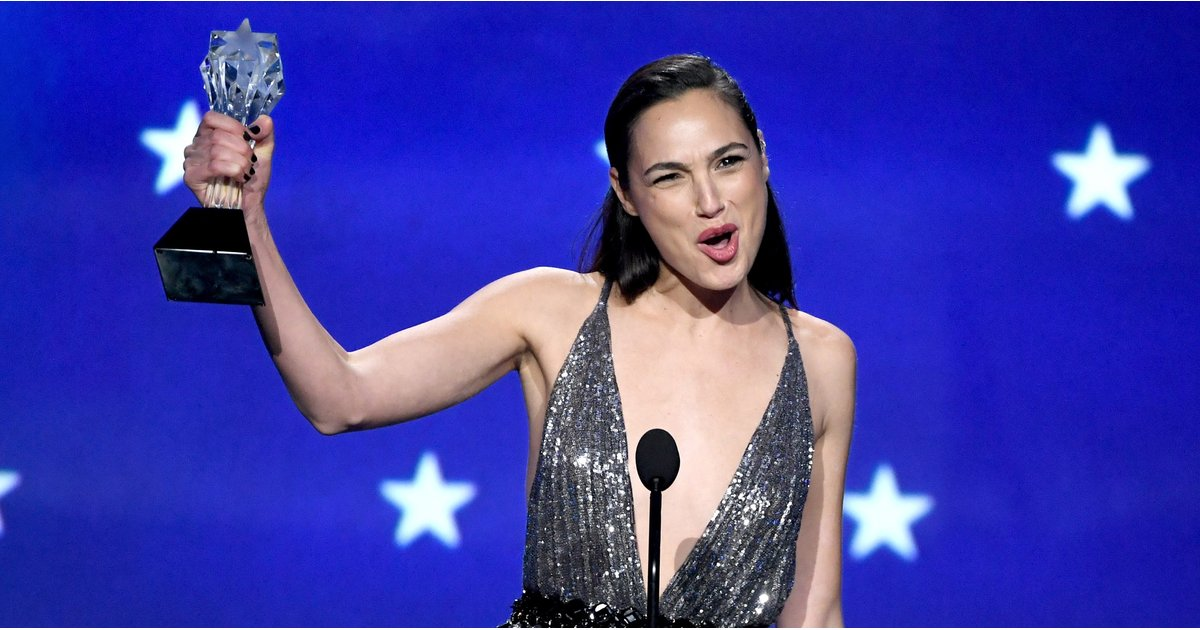 Gal Gadot Singlehandedly Delivered the Most Important Critics' Choice Speech