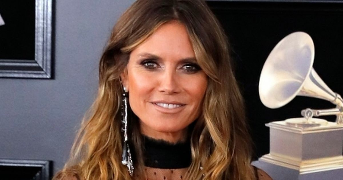 Ageless Heidi Klum, 44, strips to her THONG to share 'cheeky' snaps from bed