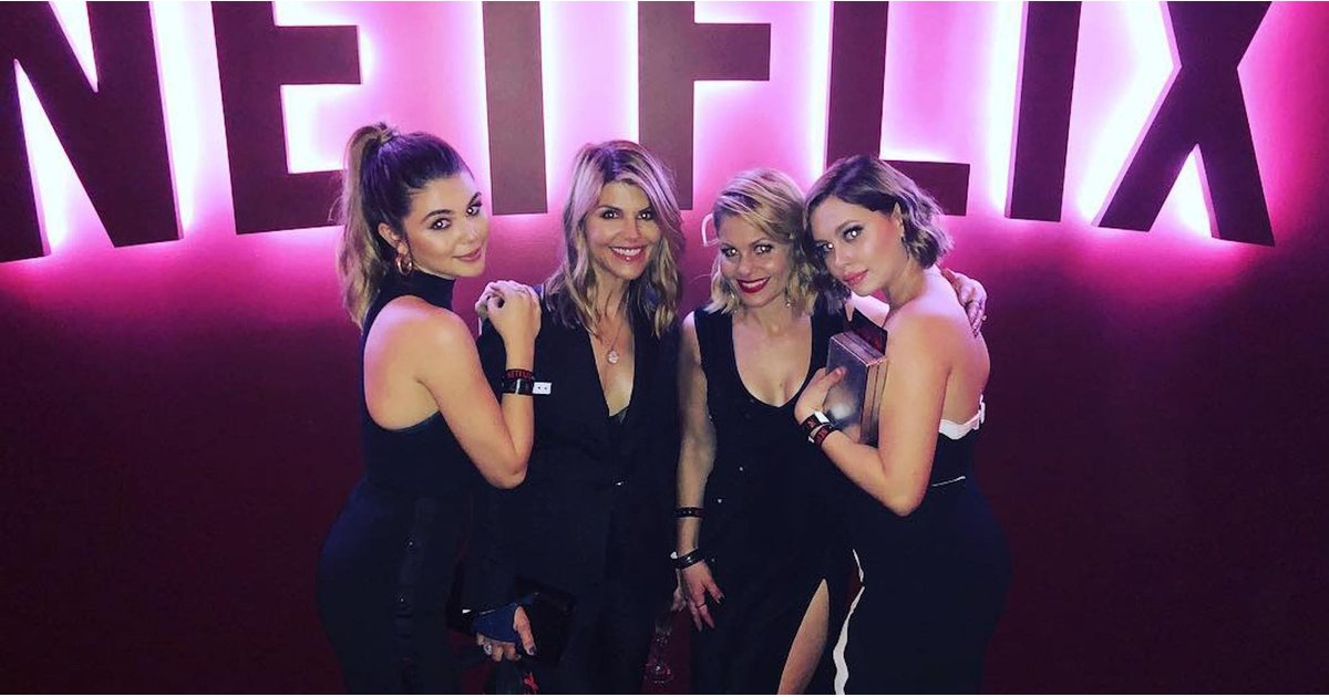 These 2 Fuller House Stars Brought Their Look-Alike Daughters to a Globes Afterparty