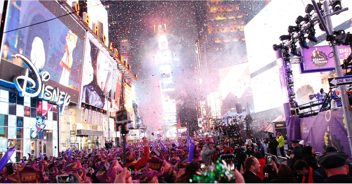 Watch All the Times Square New Years Eve Festivities Right Here