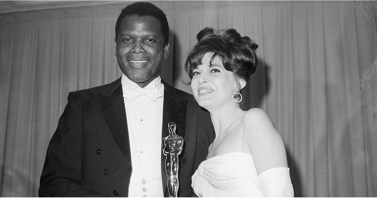 Here's the Moment Sidney Poitier Inspired Oprah to Become, Well, Oprah