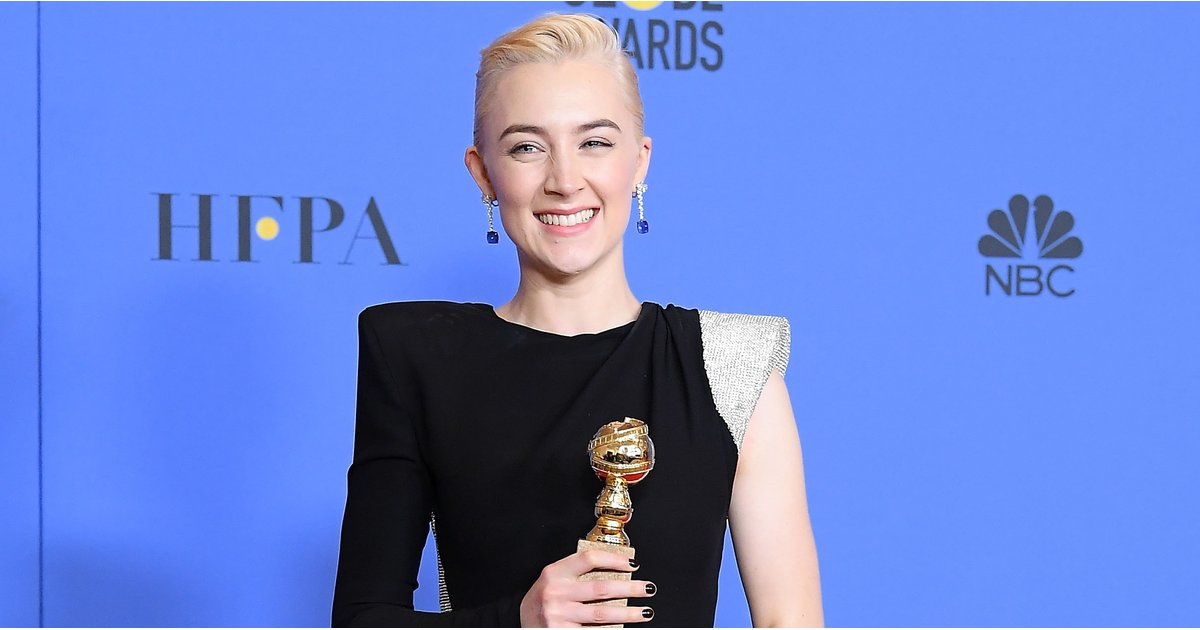 Saoirse Ronan Celebrated Her Golden Globe Win With Her BFF by Her Side