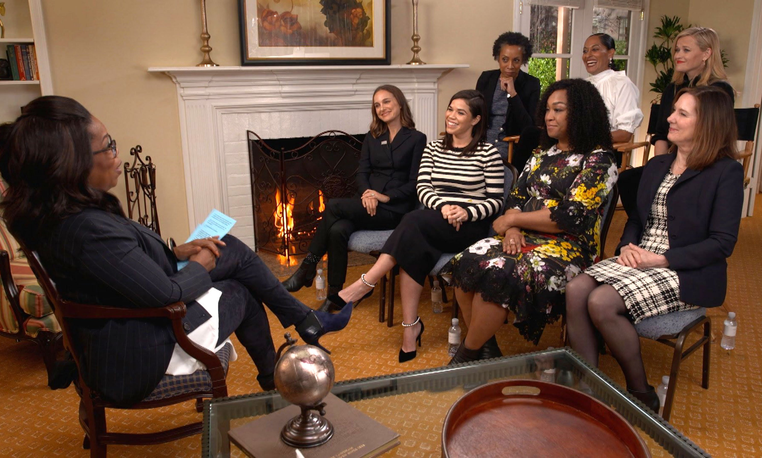 Oprah Winfrey: Reese Witherspoon, Shonda Rhimes, Natalie Portman, more discuss Time's Up