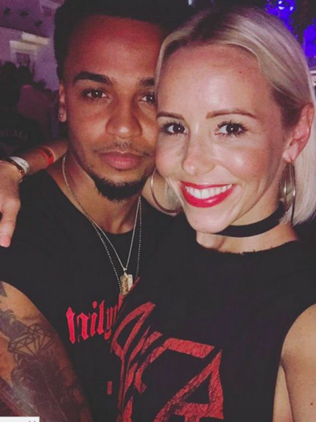 Aston Merrygold welcomes baby boy with girlfriend Sarah Richards