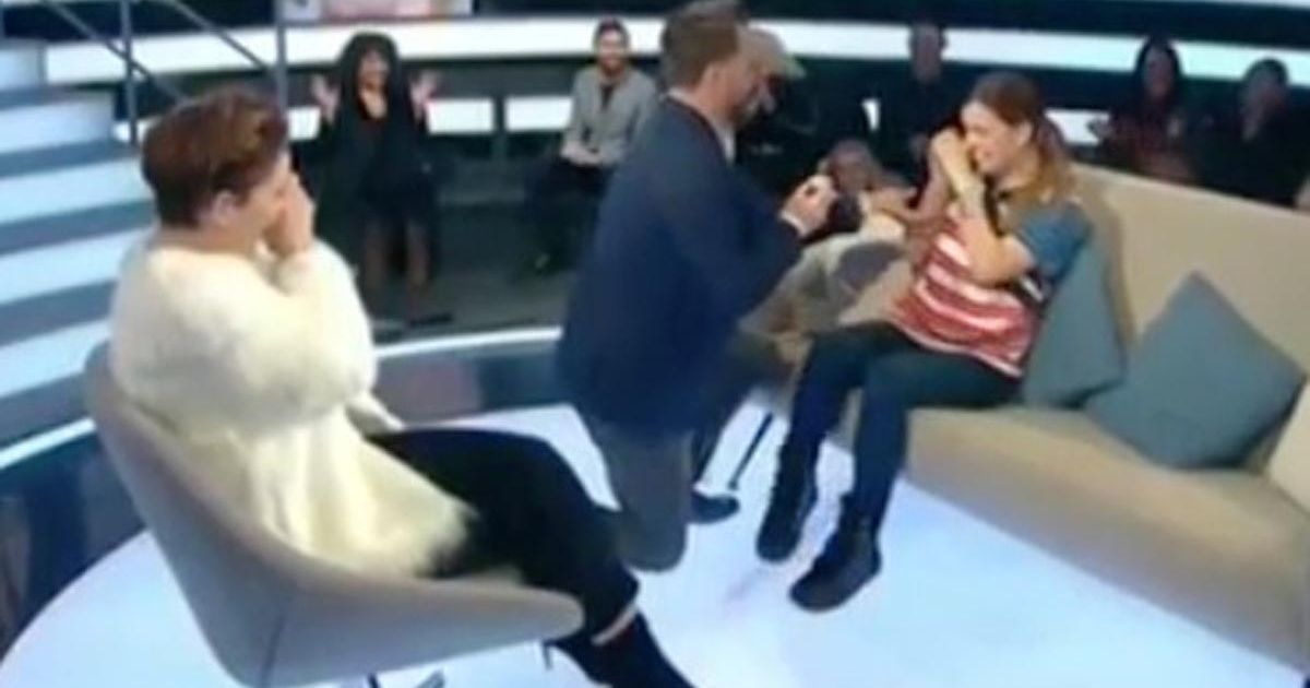 Dapper Laughs proposes to girlfriend live on CBB after getting evicted