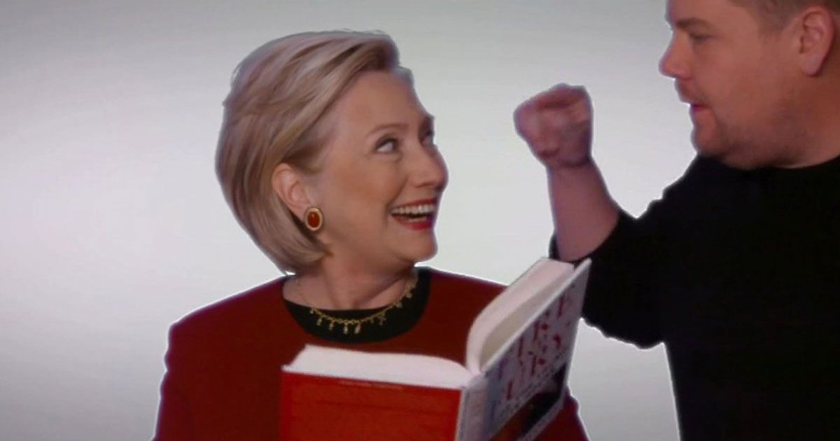 Hillary Clinton steals show with surprise Grammys cameo throwing shade at Trump