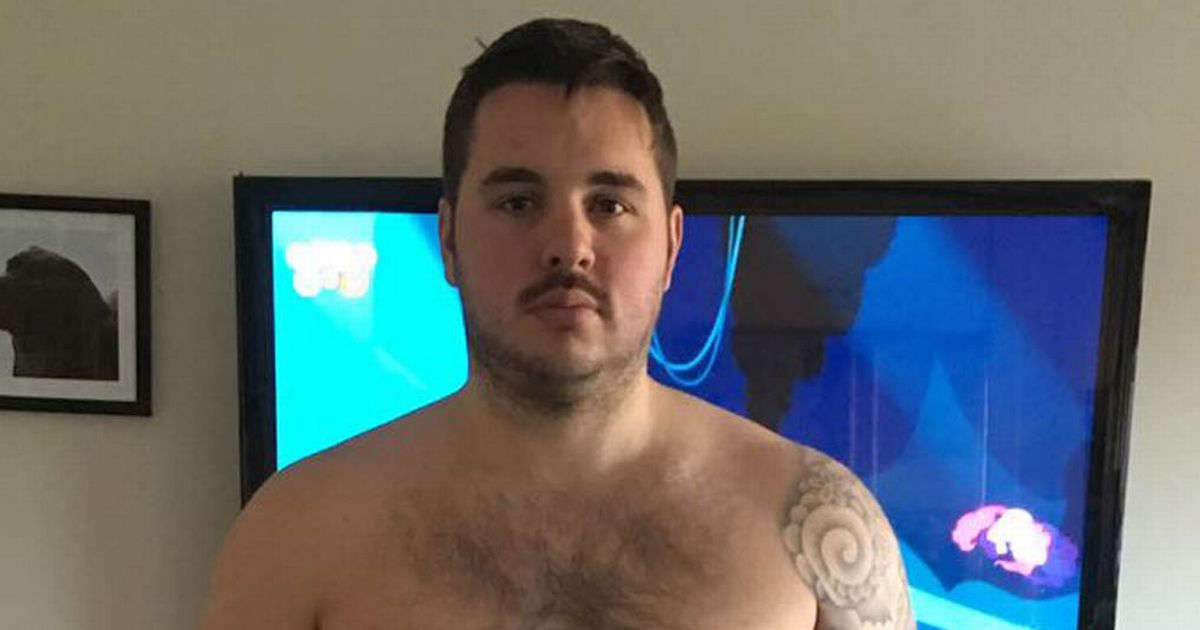Man who laughed off male banter about weight goes through amazing transformation